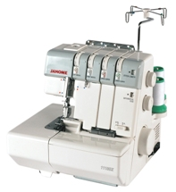 Janome 1110DX 3-4 thread serger machine