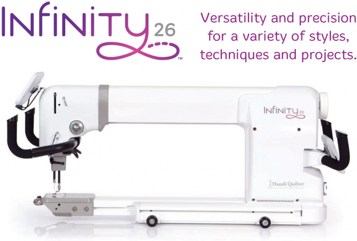 Handi Quilter Infinity 26 Inch Quilting Machine