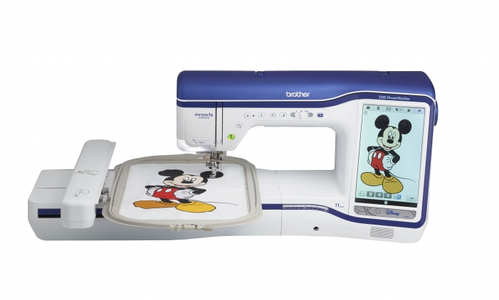 Brother Inno-vis The Dream Machine XV8500D Sewing-Embroidery-Quilting Machine