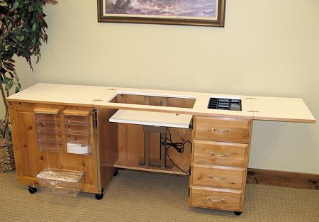 Awesome Fashion Sewing Cabinets Model 6900: Royal 24  With FREE INSERT!