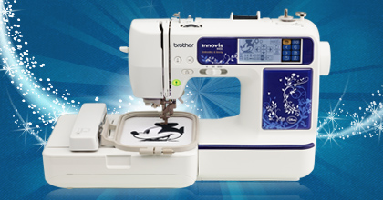 Brother Inno-vis 990D Sewing-Embroidery Combo Machine