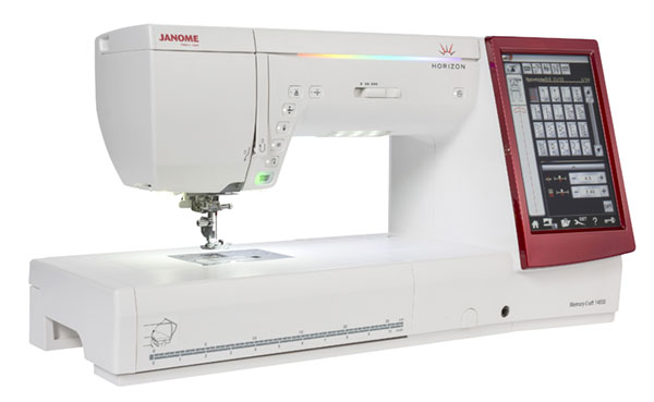 Janome Horizon Memory Craft 14000 Sewing-Embroidery Machine
