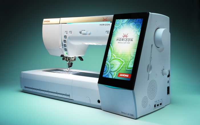 Janome Horizon Memory Craft 15000 Sewing-Embroidery Machine